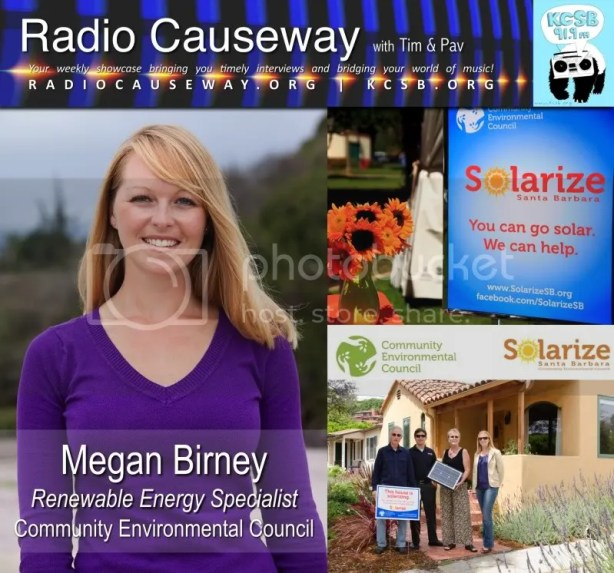 Radio Causeway: Megan Birney, Community Environmental Council – June 7, 2011