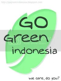 go green Indonesia!