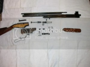 Need parts diagram of Career 707 II 25 cal carbine