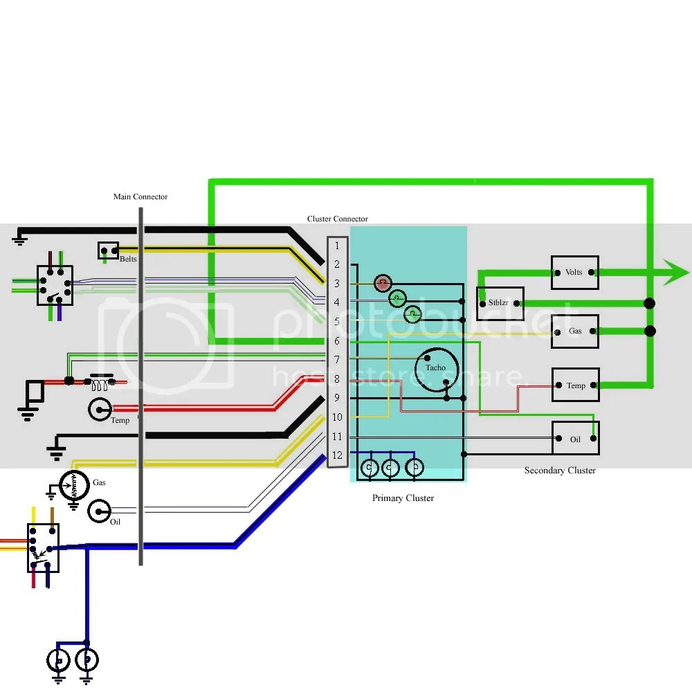 hight resolution of xa gs dash into falcon 500 australian ford forums model wiring diagram taco wiring diagrams f100