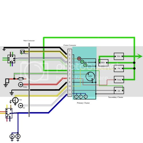 small resolution of xa gs dash into falcon 500 australian ford forums model wiring diagram taco wiring diagrams f100