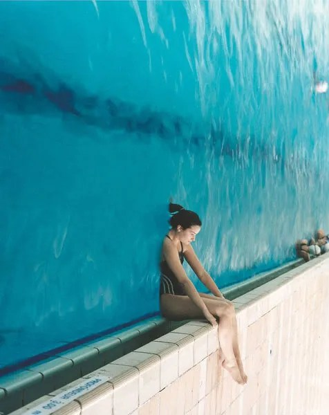 A water wall like this is what I need during the middle of August.  Ahhh!