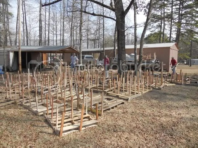 Pictures From The Build Build Last Weekend On Nimrod Lake
