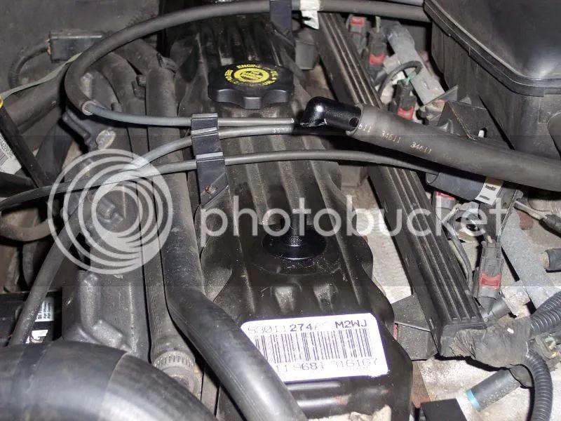 jeep 4 0l engine valve cover diagram