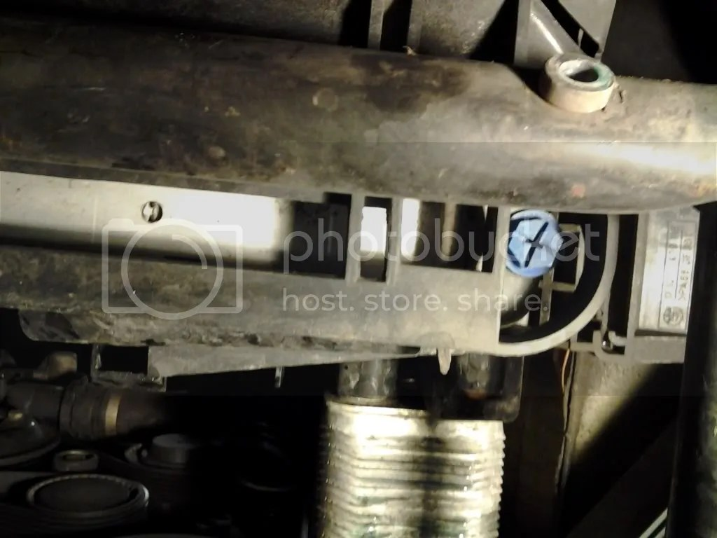 hight resolution of now look on the driver underside of the radiator locate the blue drain plug