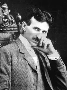 Tesla, seen here flirting with you.