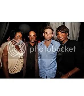 Serena and Venus Williams, J. Blake and A. Roddick
