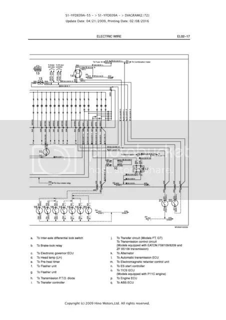 hino fd wiring diagram v8043e1012 temp gauge problem 1 2 historic commercial vehicle club of emailed me the for sender and combo meter but it does t show any earths is one able to decipher or know where i d