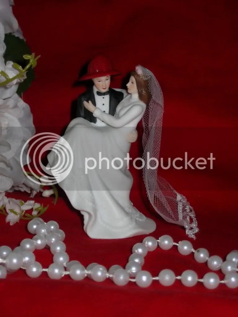 Fireman Firefighter Bride  Groom Wedding CAKE TOPPER  eBay