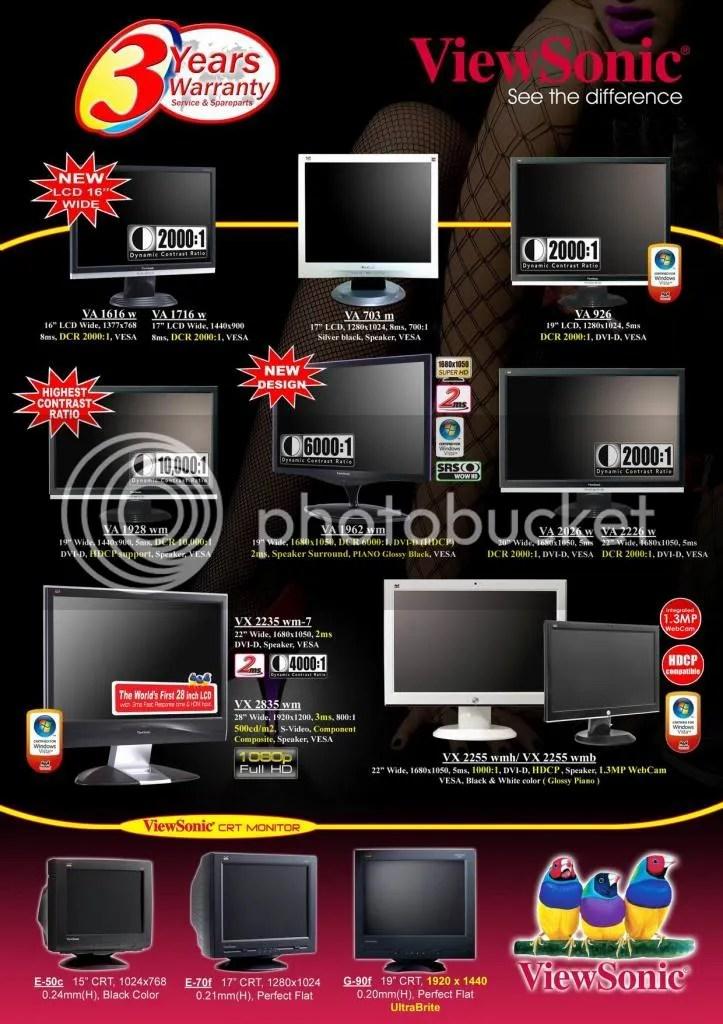 LCD Monitor Viewsonic