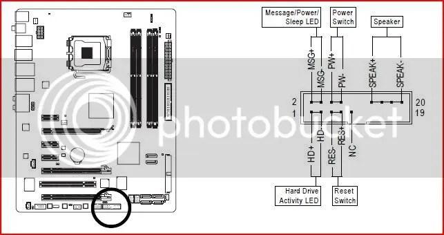Motherboard Case Connectors
