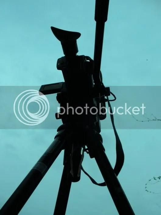 kamera siluet