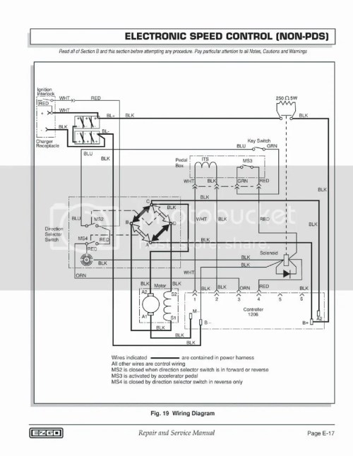 small resolution of pds wiring diagram wiring diagram for you 6 ezgo txt controller wiring ezgo txt pds wiring