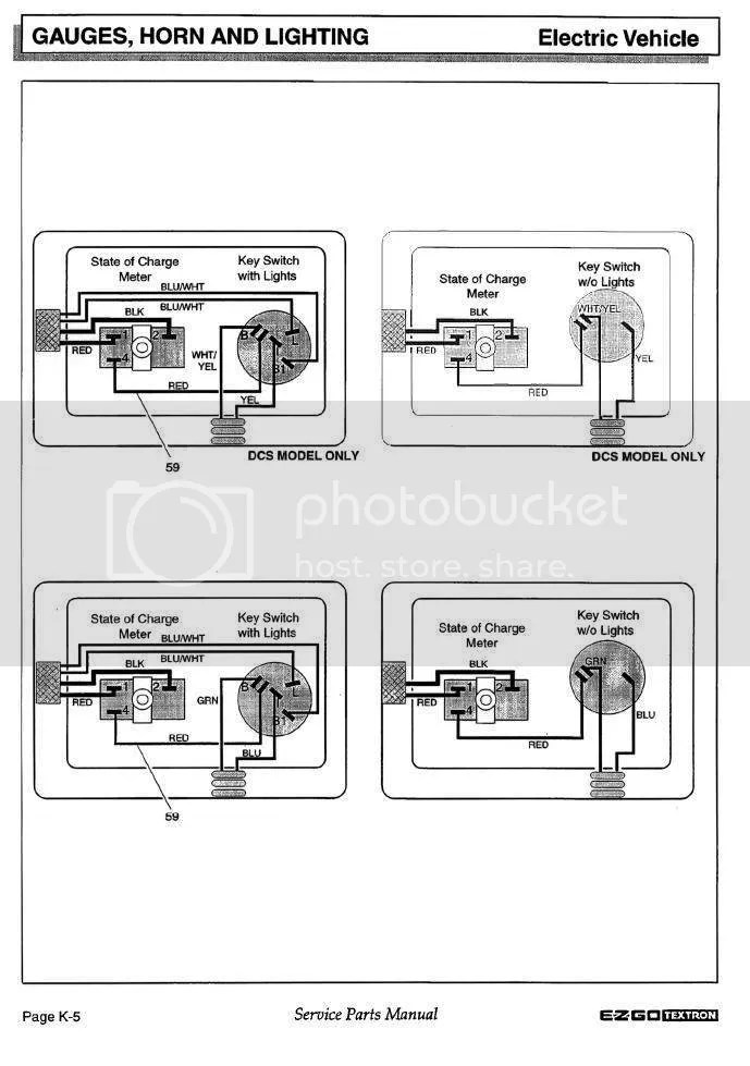Ezgo Txt Ignition Switch Wiring Diagram