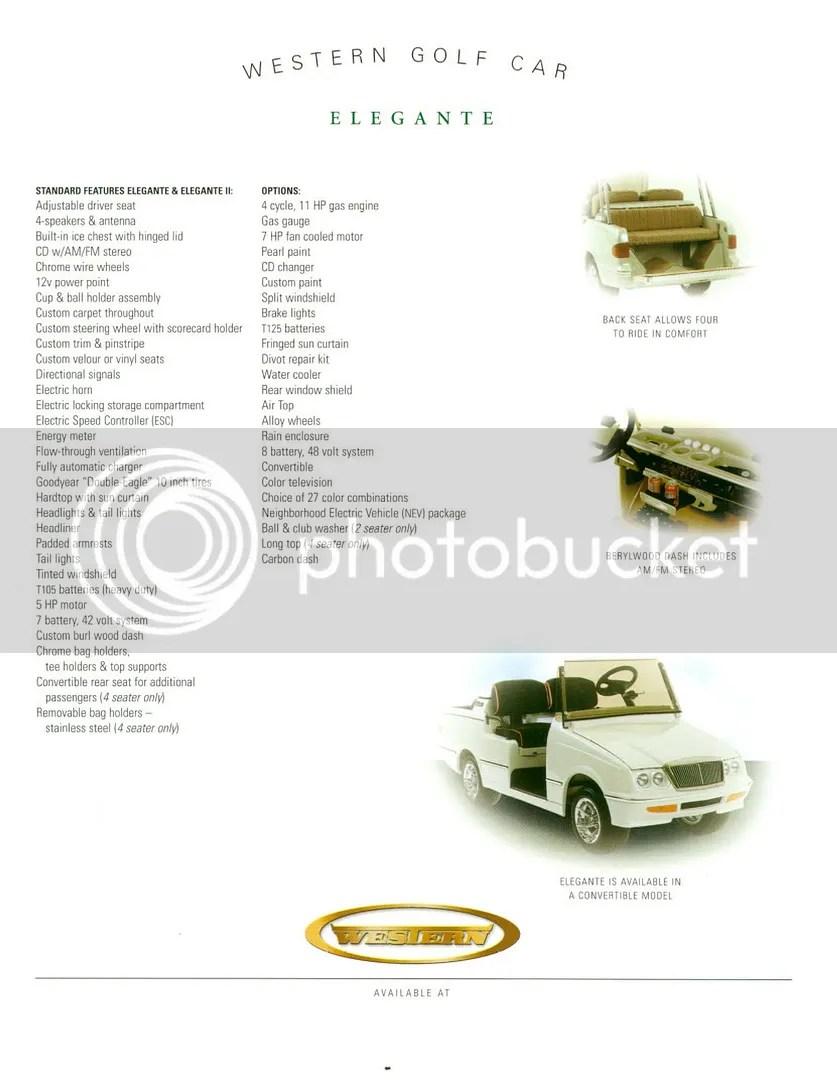western elegante golf cart wiring diagram meyer home plow page 3