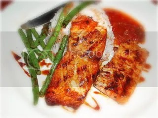 sweet n spicy salmon