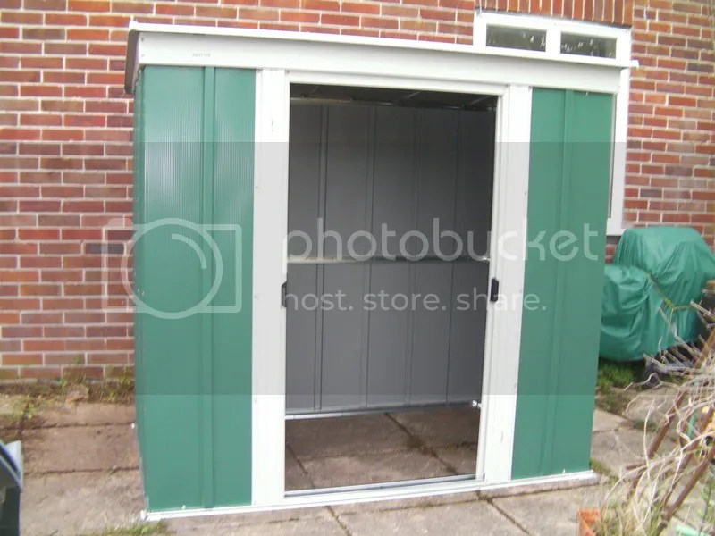 New shed - doors closed