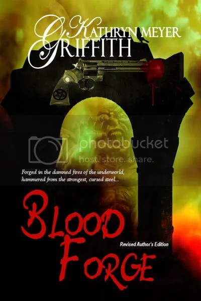 Blood Forge-Revised Author's Edition, Demon possessed Gun horror novel.