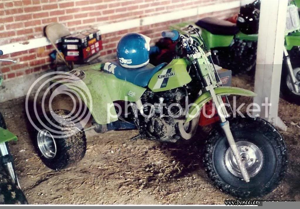 Kawasaki Tecate 3 Wheeler 250r