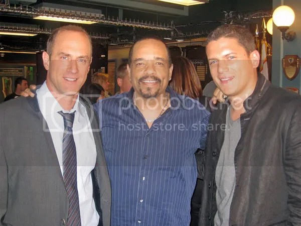 Chris Meloni, Ice-T, Wentworth
