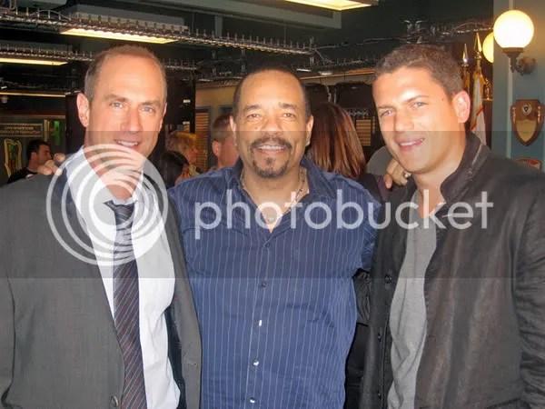 Chris Meloni, Ice-T, Wentworth