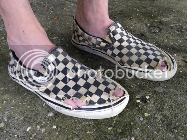 checkeredpast - Vintage Slip-On Checkers