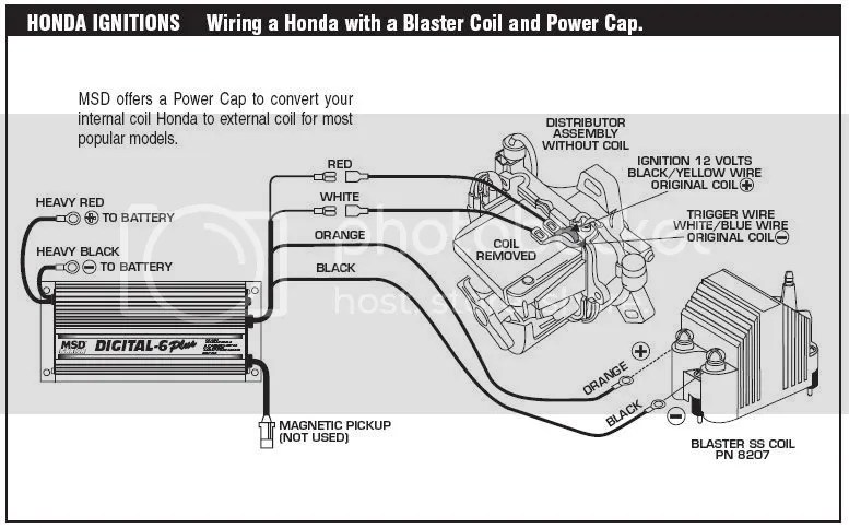 wiring diagram ignition coil conversion - honda-tech - honda forum  discussion