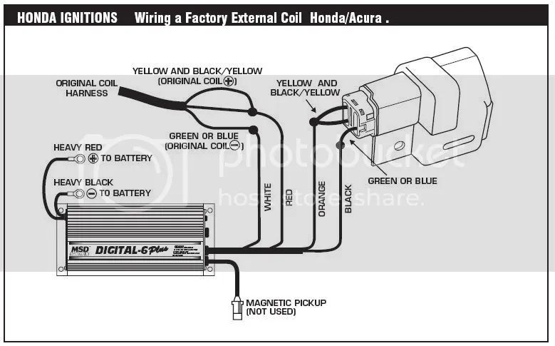 msd blaster coil ford wiring diagrams