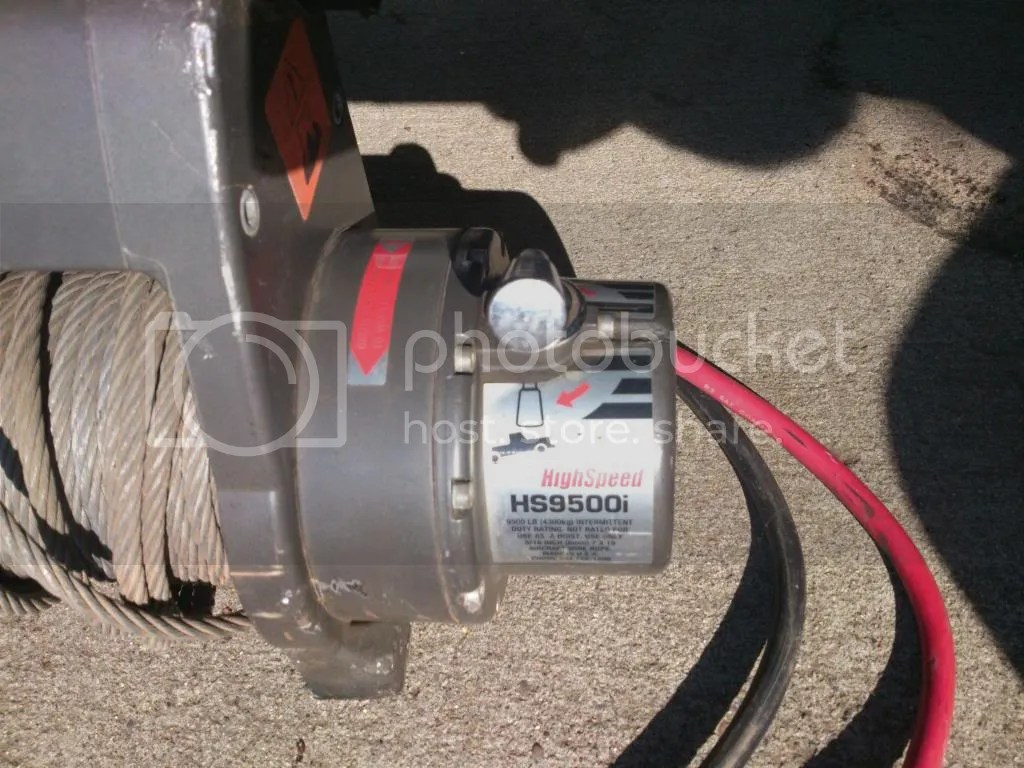 hight resolution of warn hs9500i winch part