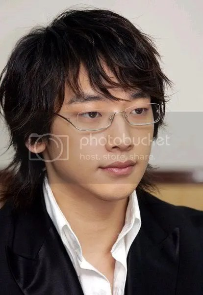 Bi Rain Asian hairstyle