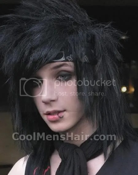 Andy Six Long Emo Hairstyles – Cool Men's Hair