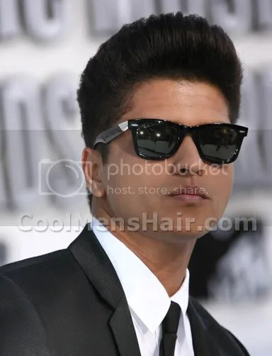 Bruno Mars Hairstyles Curly & Pompadour Hair – Cool Men's Hair