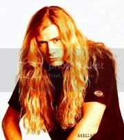dave mustaine heavy metal hairstyle