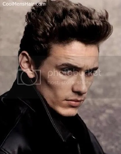 James Franco Hairstyles Curly Pompadour Short Haircuts – Cool