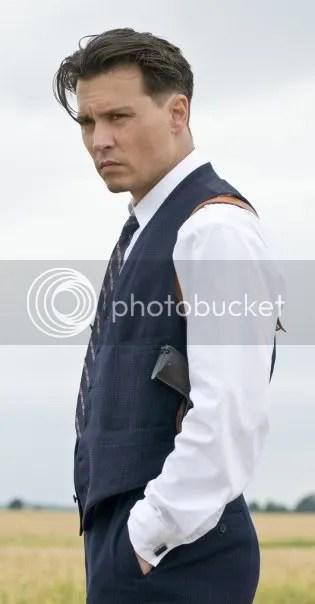 Johnny Depp 'John Dilinger' Hairstyle – Cool Men's Hair