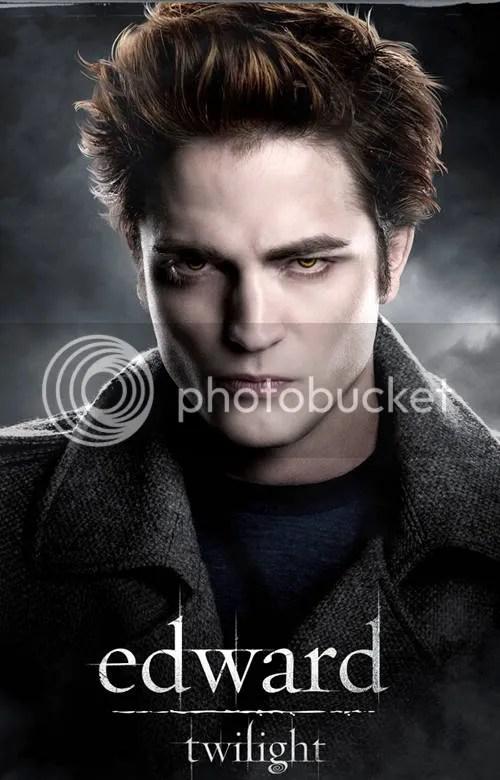 Foto de Robert Pattinson em Crepúsculo.