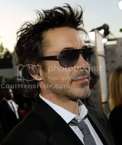 Robert Downey Jr Layered Wavy Hairstyles – Cool Men's Hair