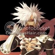 spiky hair anime style - skyrim