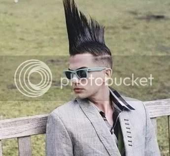 Jackson Rathbone Mohawk hairstyle