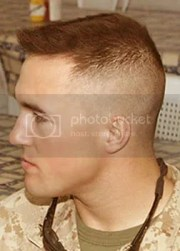 military haircuts men flat