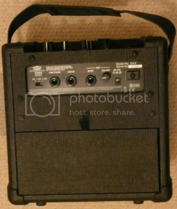 Sold Vox Da5 Digital Modelling Amp
