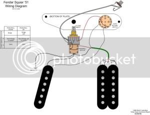 Wiring a Squier 51 Help!!  Telecaster Guitar Forum