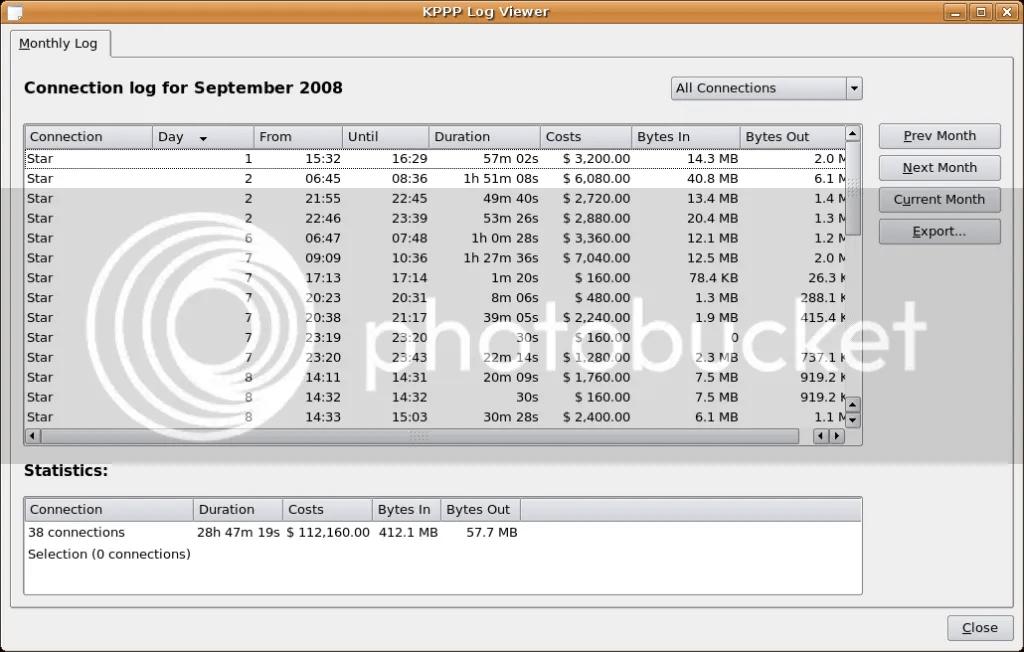 KPPP Log Viewer September