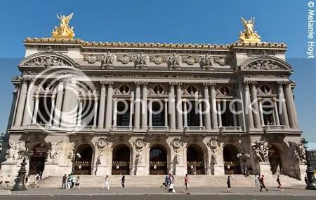 Opera Garnier, exterior