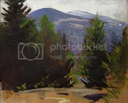 Sketch of Monadnock Mountain