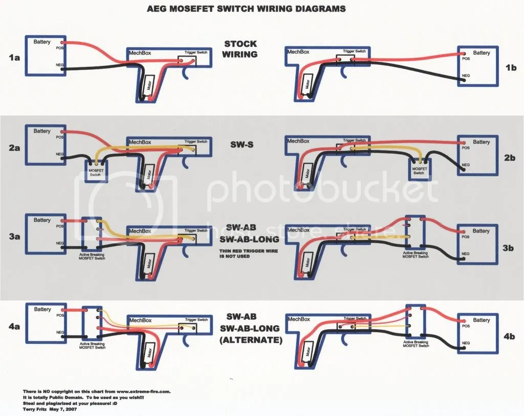 airsoft mos fet wiring diagram wiring diagram section  airsoft mos fet wiring diagram #15