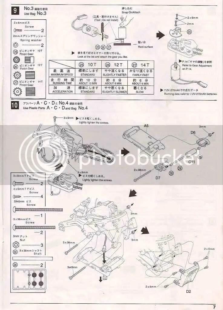 Instruction Manual Kyosho Honda NSR500 Photo by eichkay