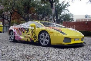 Lamborghini easily converted this gas guzzling Gallardo to use biofuels.  Yet the ecology and economic effects of producing the fuel for such a car have been called into question by most studies.