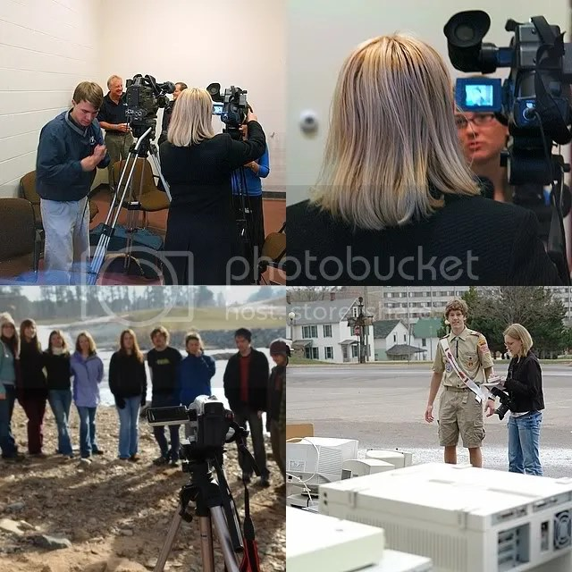 Earth Keepers media coverage collage
