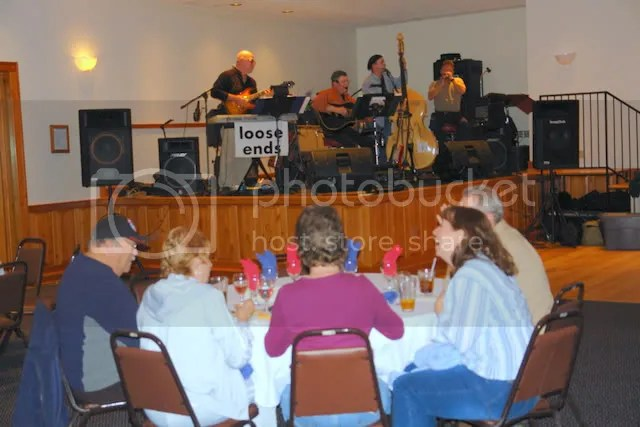Greg LaCombe and the Loose Ends Band from Munising, Michigan performed at last year's student benefit concert: